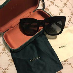 7127a6a61be7d Gucci Accessories - Gucci 51mm cat eye sunglasses